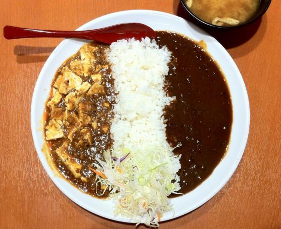 東京チカラめしの本格四川麻婆豆腐&カレー
