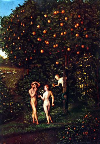 クラナッハ作「知恵の樹」(wikipediaより)