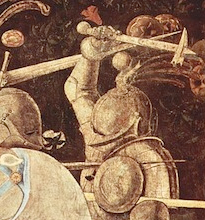 女性が「中世の武器」で襲われ重症 14世紀最恐「ウォーハンマー」が凶器
