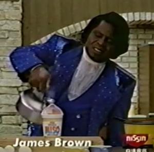 ジェームズ・ブラウンの日清CMの衝撃 あの「ミソッパ!」を覚えてる?
