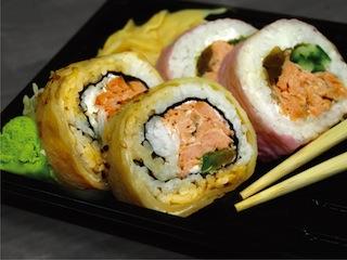 ※海外の寿司は日本人からするとやや不思議な見た目。画像はstock.xchngより。