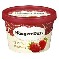 ※画像は『ハーゲンダッツ ストロベリー 120ml ×6個』美味しそう〜。