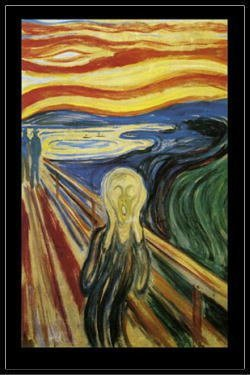 ※画像は『エドヴァルド ムンク Edvard Munch ムンクの叫び ポスター フレームセット』