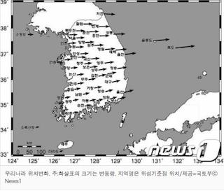 ※画像は東亜日報より。この接近は新たな領土問題を生んだり?