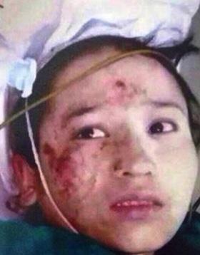 ※当局が公開した犯人の少女。