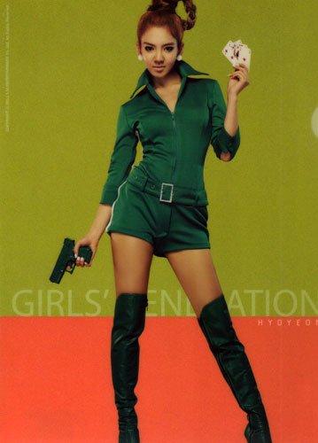 ※画像は『少女時代 GIRLS' GENERATION:ヒョヨン HYOYEON オフィシャル クリアファイル Ver.3』