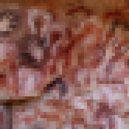 JOJOスタンド風な洞窟壁画!!! 最恐すぎるスタンドっぽくてコエー!
