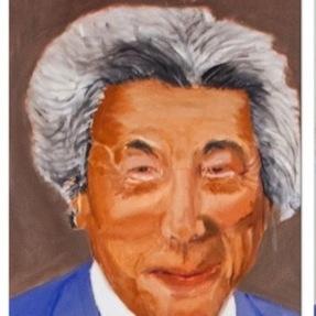 ブッシュが描いた小泉元総理の絵がゾワゾワする… 元大統領の心の闇!?