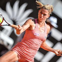 女性テニス選手の胸に広告は差別? 男の視線集めるマーケティングに非難