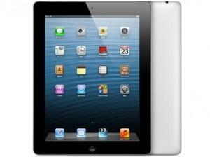 ※画像はApple 第4世代 iPad Retinaディスプレイモデル Wi-Fiモデル 16GB MD510J/A ブラック MD510JA。