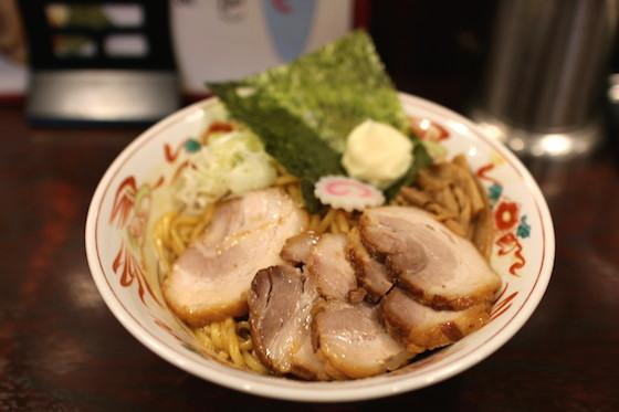 ※日本のラーメンは世界を席巻している。この写真は油そばですが。