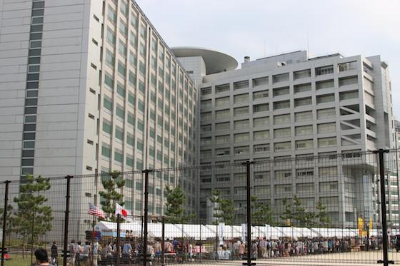 東京拘置所は東武線小菅駅が最寄り。