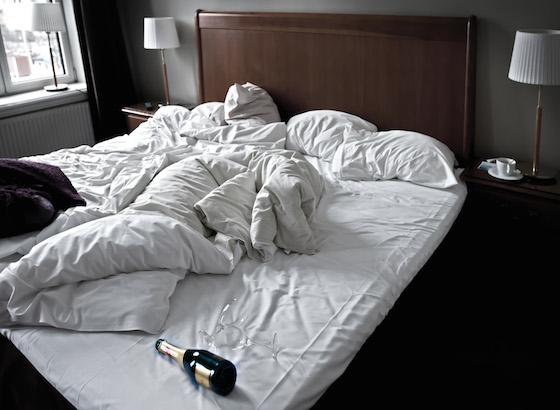 寝酒は身体に悪いのだ!