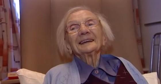 109歳でも元気なジェシーおばあちゃん(未婚)。