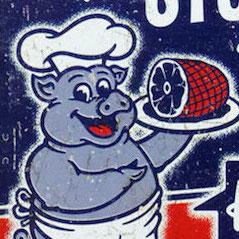 豚の看板が「豚肉うまい」は異常? 飲食店の無意識サイコパス