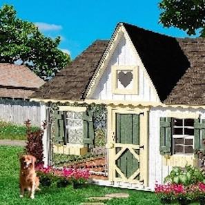Amazonで123万円の犬小屋が豪華すぎ! 人間のアパートなみの広さなセレブ仕様
