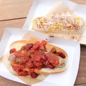 本日オープン、ログロード代官山の美食レポート! 海外人気のメキシカン グリルドコーンが美味、カムデンズ ブルー スター ドーナツだけじゃなかった!