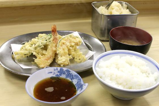 料亭クラスの天ぷらがお値打ち価格で!