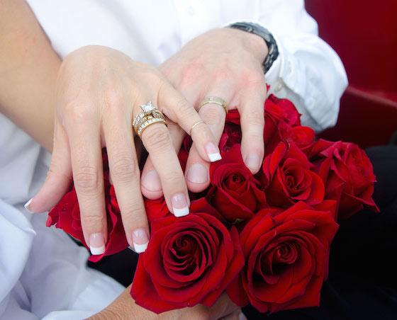 こんな幸せな瞬間が永遠に続けばいいのに…それには結婚指輪が重要なのです!