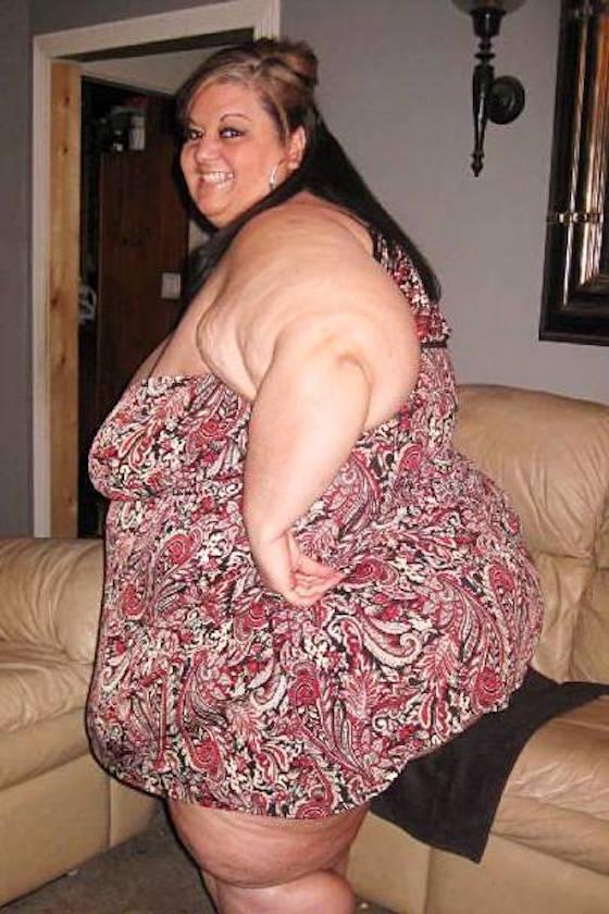 なんてふくよかな女性!彼氏のために、愛のためにこんなボディになったのです。画像はFACEBOOKより。