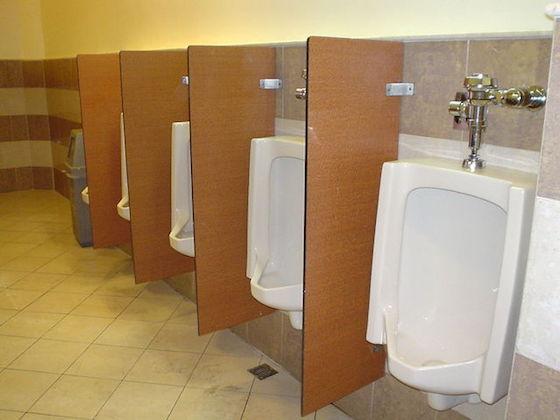 男性の方がトイレをキレイに使っている?
