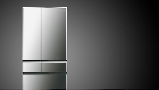 話題のPanasonicの冷蔵庫はデザインもすごい。