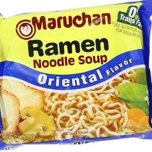 マルちゃんは海外でも人気ブランド。