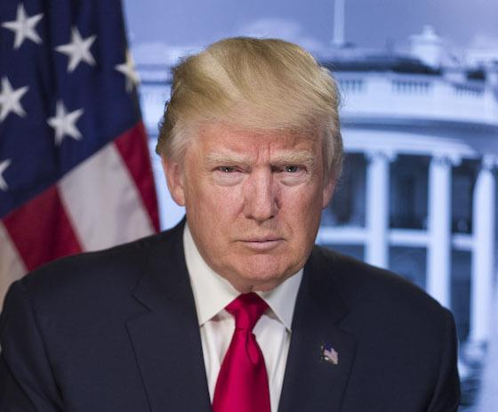 トンラプ大統領イメージ