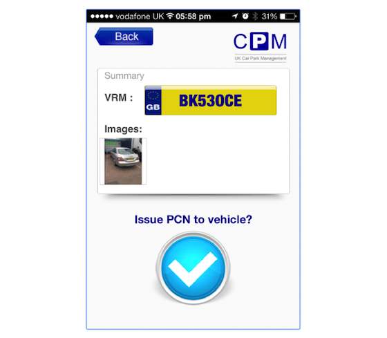違法駐車アプリイメージ