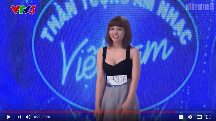 金正男暗殺犯のアイドル時代映像が流出 巨乳セクシー姿でテレビ番組出演していた