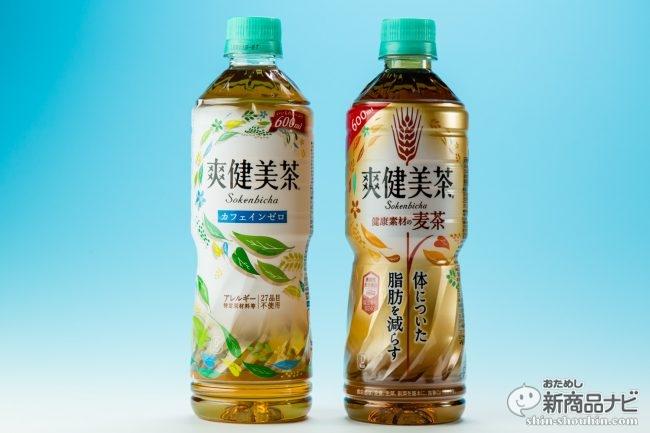 本日発売『爽健美茶 健康素材の麦茶』脂肪を減らす機能性とは!?  本家『爽健美茶』もさらに進化していた!