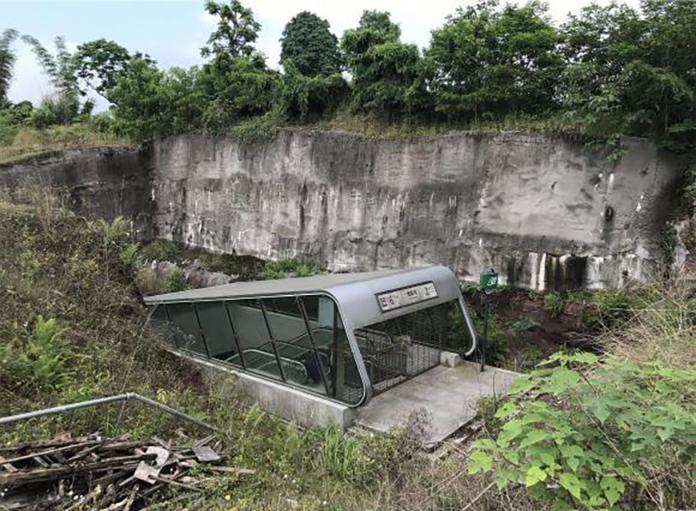 中国の山奥すぎる地下鉄の様子が凄すぎると話題に! 駅構内は近未来だがほぼ無人…!!!