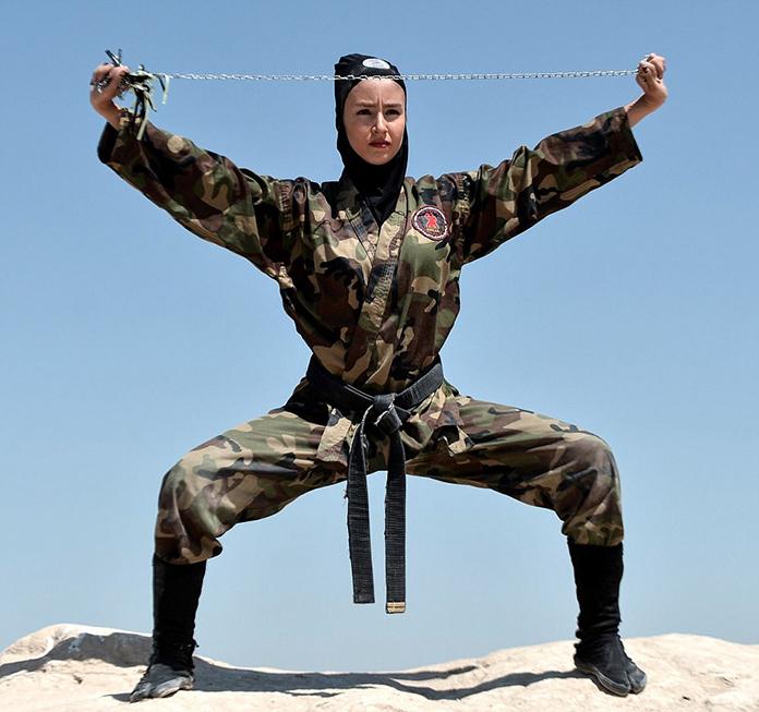 イランで女忍者が4000人超え 日本人女性の忘れた心技体、海外で根付く
