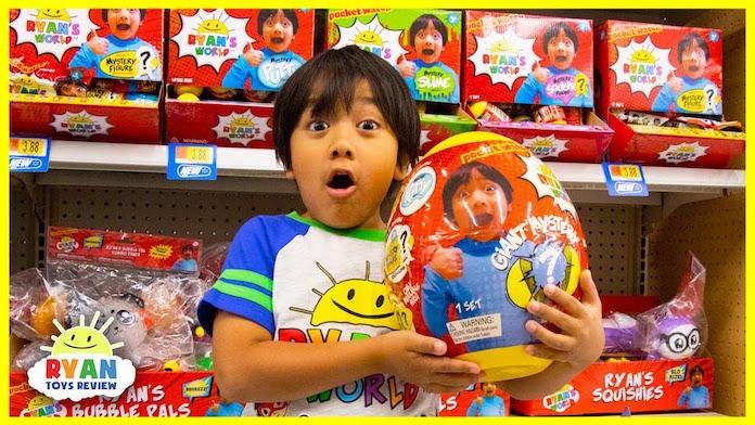 7歳YouTuberが1年で25億円の収入 おもちゃレビュー動画が人気