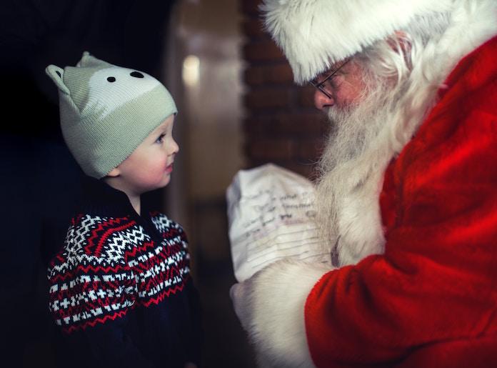 サンタクロースからの手紙、動画付きで無料配布中 コンビニで簡単にメッセージをプリント