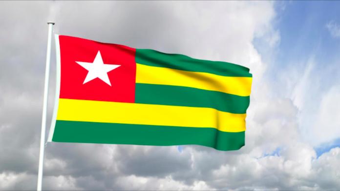 トーゴ共和国国旗