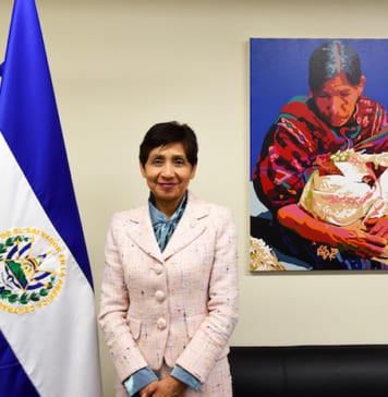 駐日エルサルバドル共和国特命全権大使マルタ閣下