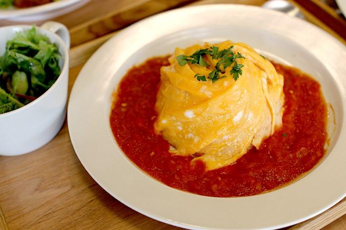 熱海プリン食堂 チーズオムライス