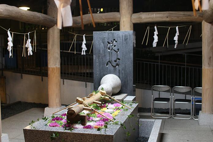 東郷神社手水舎