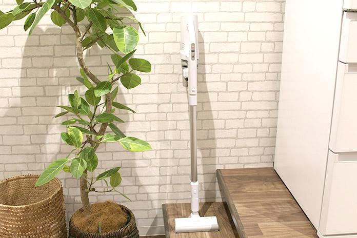Panasonic・コードレススティック掃除機MC-SB30Jの軽すぎる使い心地 掃除を好きになる扱いやすさ!