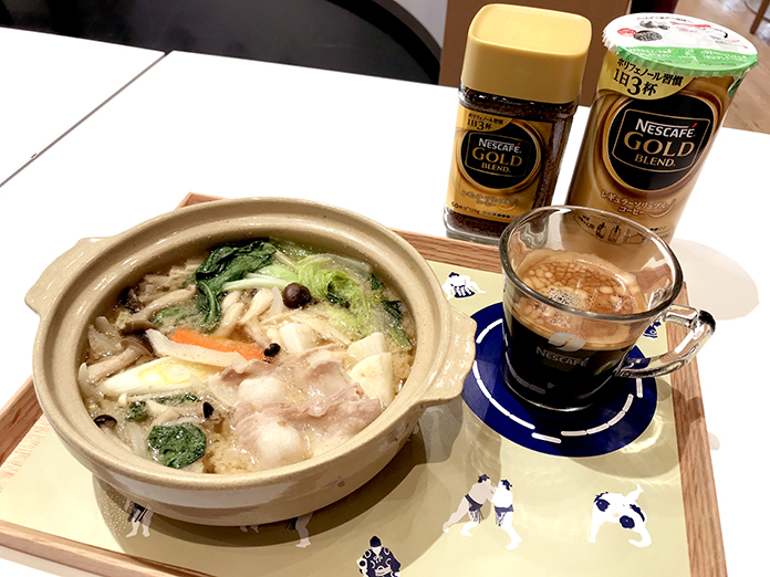 ちゃんこ鍋&コーヒーの組み合わせは最高の健康ごはん! 角界秘伝のレシピがネスカフェ原宿で味わえる