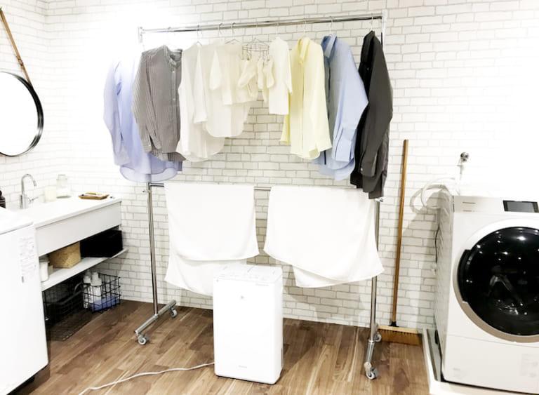 洗濯物の生乾き臭対策には衣類乾燥除湿機 パナソニックに学ぶ部屋干しテクニック